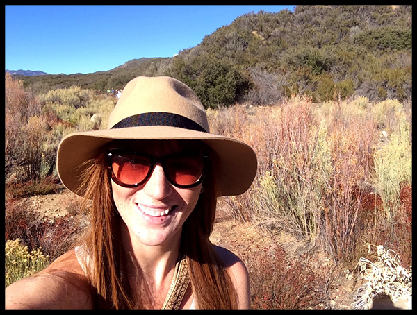 selfie on the trails horseback