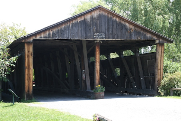 Vermont covered bridge Shelburne Museum