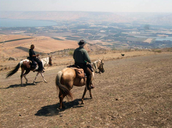 israel horseback riding holidays