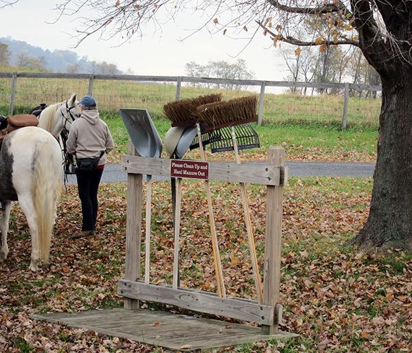Sky Meadows State Park Horseback Pooper Scooper