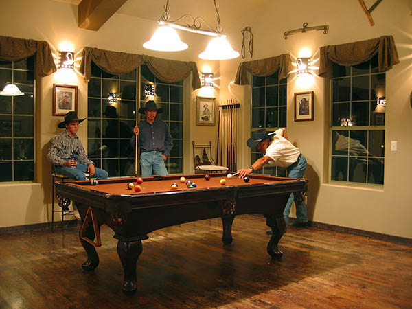 stagecoach trails guest ranch billards