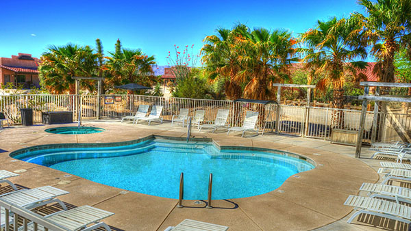 Stagecoach Trails Ranch Arizona pool