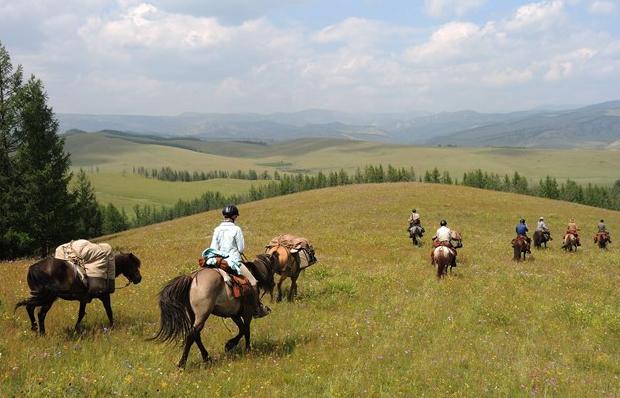 stone horse mongolia riding vacation travel deals