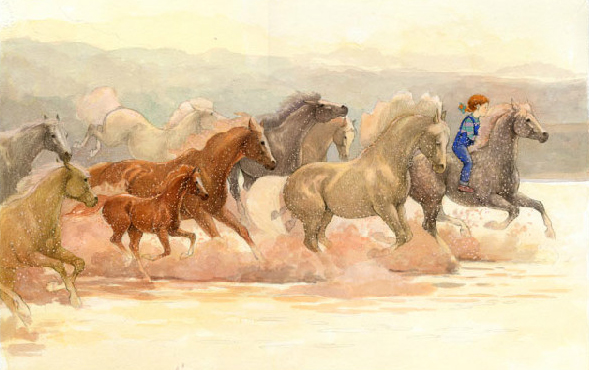 Susan Jeffers' children's book for horse lovers My Pony