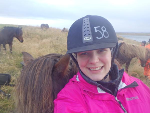 susanna baxyer horseback riding vacation iceland