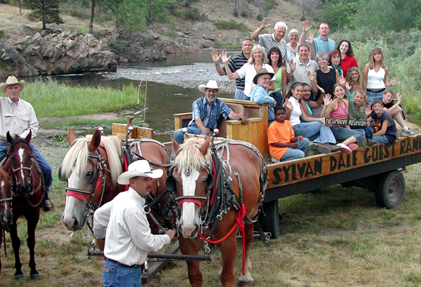 sylvan dale guest ranch family reunion