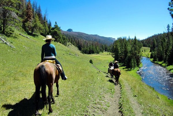 t cross ranch wyoming horseback