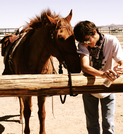 teen and horse ranch vacation
