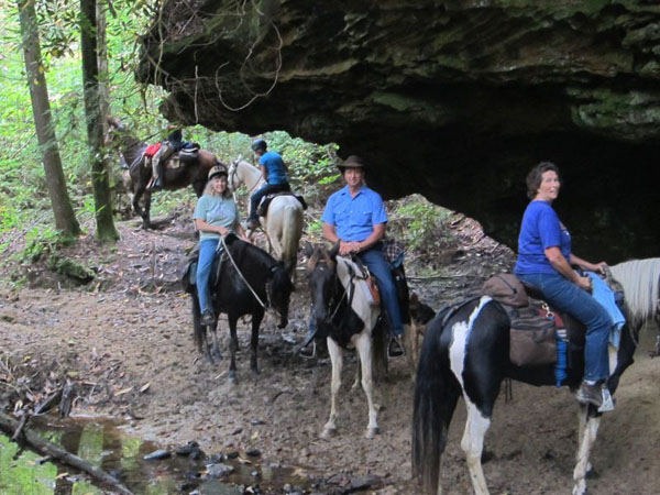 Trail Riding Big South Fork Tennessee