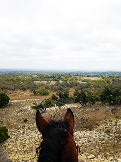 Texas Hill Country horse riding Cross G Ranch