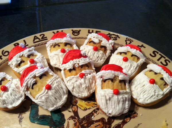 The Home Ranch Santa Cookies