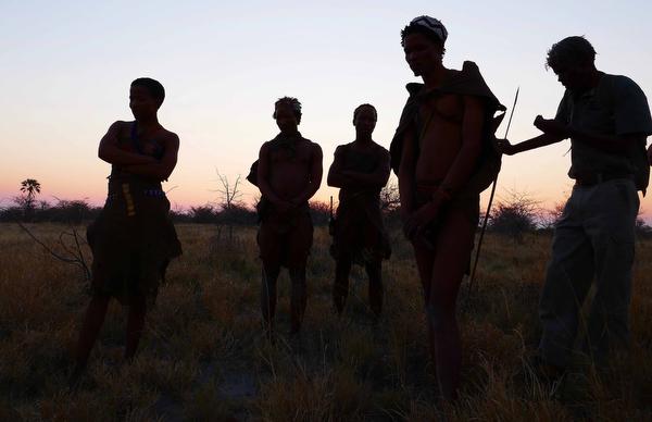 the san bushmen of botswana