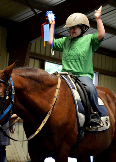 Therapeutic Riding CHAMP Horse Show