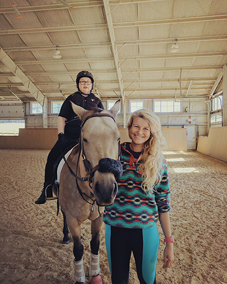 therapeutic riding elevation equitation