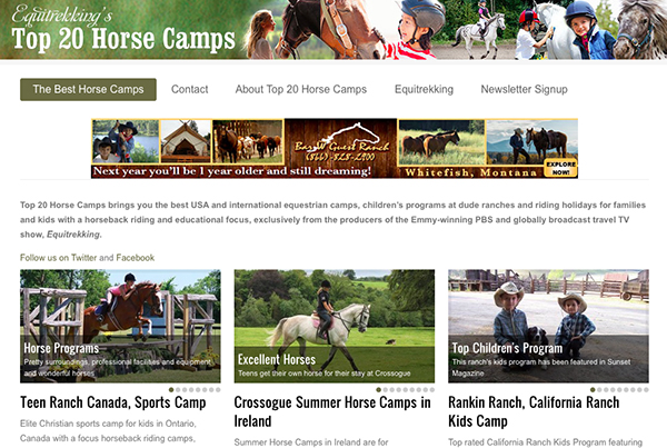 Top 20 Horse Camps