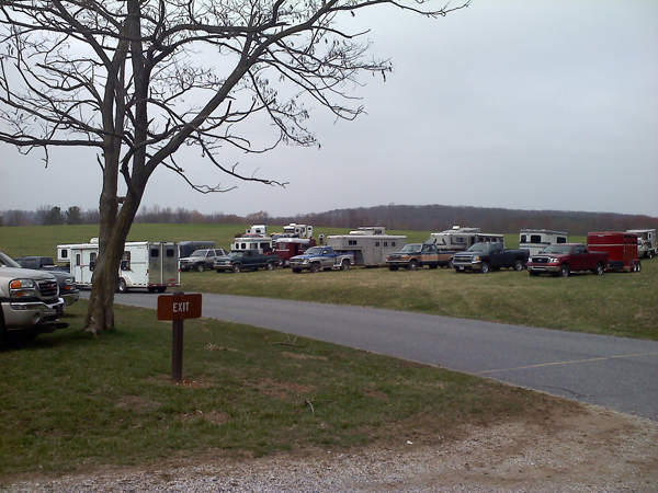 Codorus State Park Pennsylvania horseback trailer parking lot