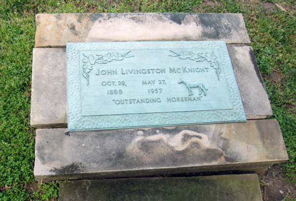 John Livingston McKnight grave