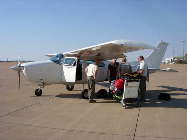 Darley39s Travel Blog  Botswana Charter Flights And Tuli From Above  Equ