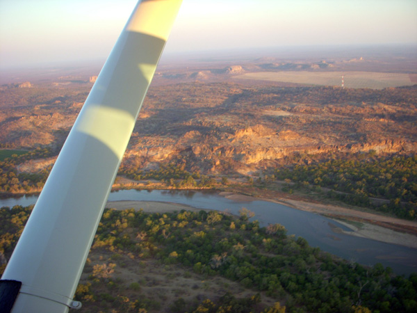 Tuli from the air