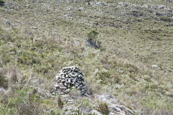 Uruguay stone cones