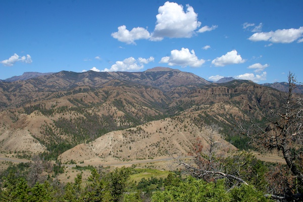 Shoshone National Forest views