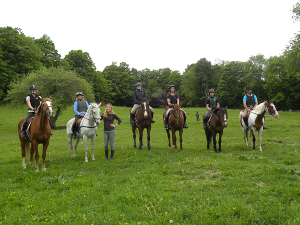 Vershire Riding School Adult Camp Group