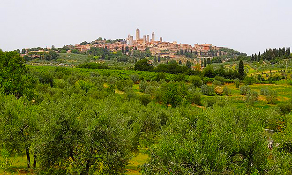 view of San Gimangiano