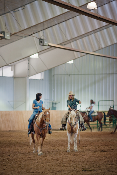 Vista Verde Riding Clinic Indoor Arena