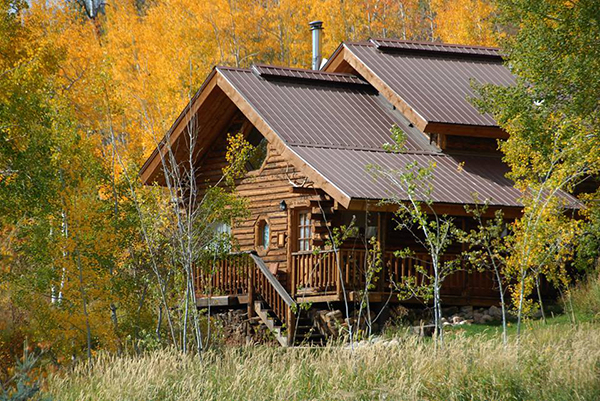 vista verde cabin fall colors