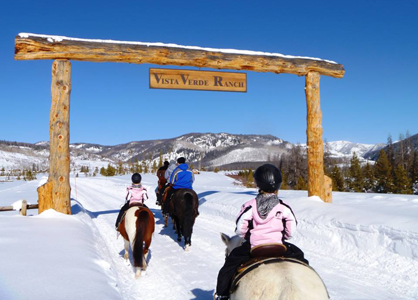 vista verde ranch horseback