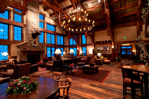 vista verde ranch  Steamboat Springs Colorado christmas lodge