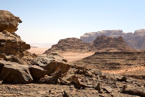Wadi Rum landscapes
