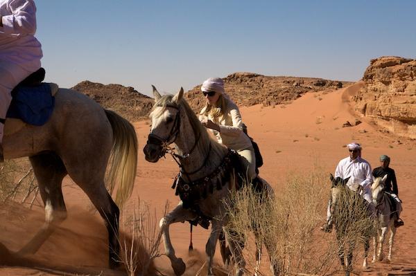 Wadi Rum horseback