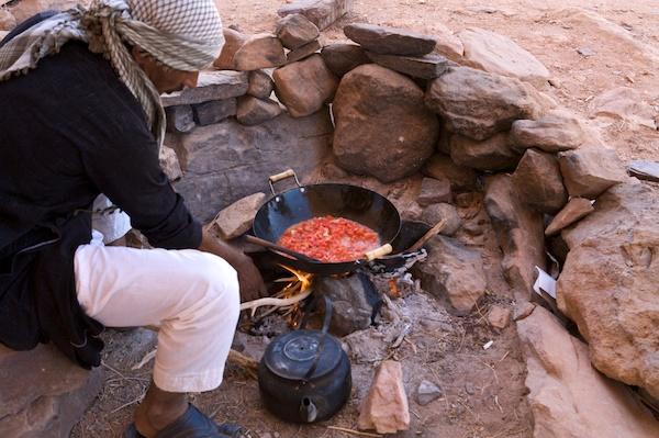 Wadi Rum meal