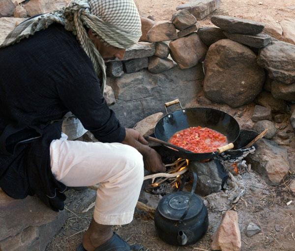 Wadi Rum Cooking