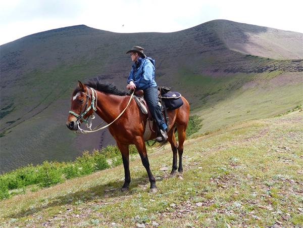 waterton lakes national park canada horse riding vacation