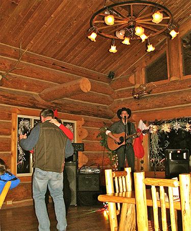 western pleasure guest ranch sleigh ride entertainment
