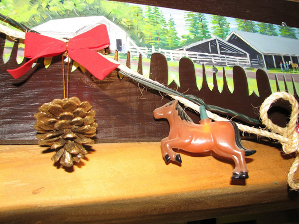western pleasure guest ranch christmas decorations