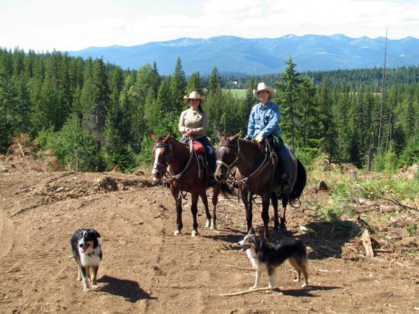 western pleasure guest ranch views