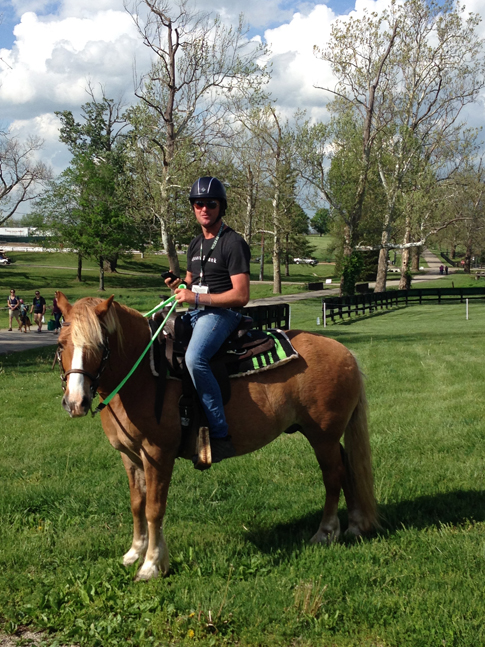 Will Faudree Rolex Ride the Course
