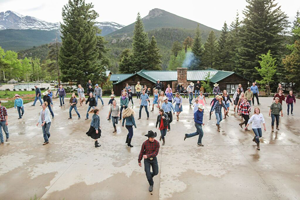 Wind River Ranch Square Dancing