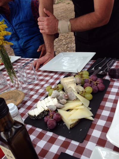 wonderful food spain riding holiday