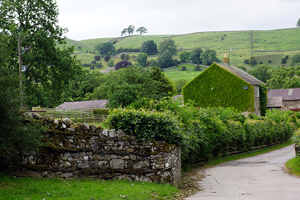 Yorkshire Dales view England