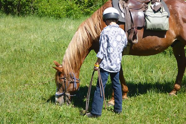 young cowboy laramie river ranch colorado