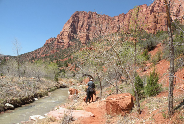zion horse trails utah