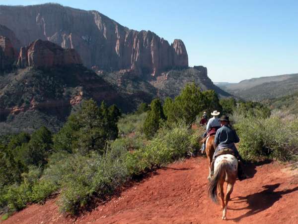 zion national park horseback riding