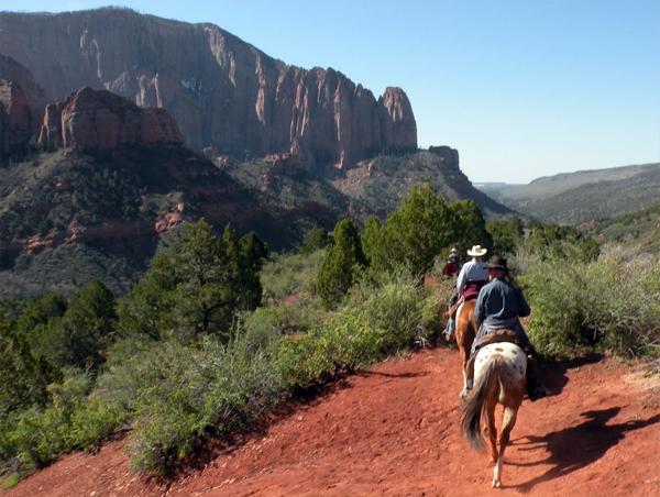 zion national park horseback riding